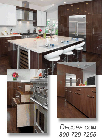 Kitchen Cabinets - High Gloss Maria Rose